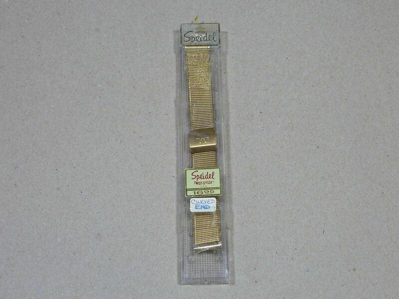 Vintage Speidel Twist-O-Flex Watch Band
