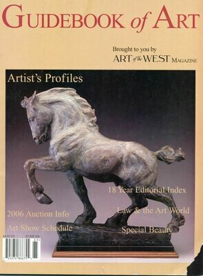 Art of the West Magazine Guidebook of Art 2006