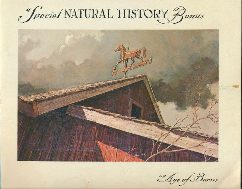 Special Natural History Bonus An Age of Barns Eric Sloane Vintage Paperback