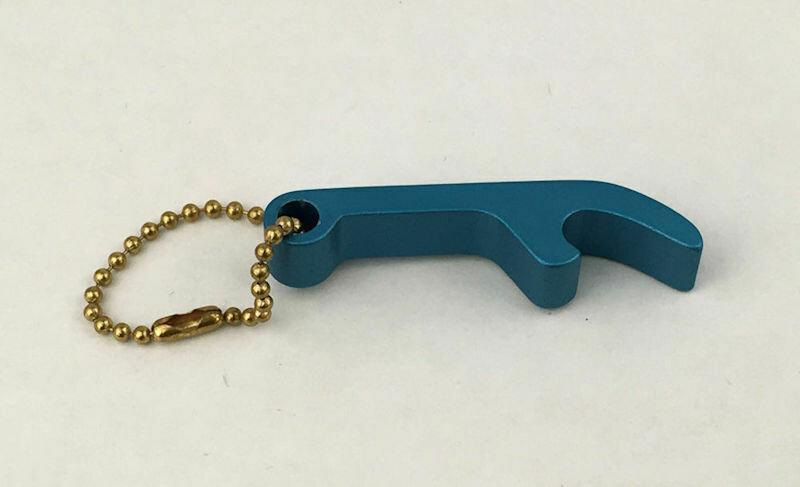 Aluminum Key Ring Key Chain Bottle Opener Promo Item