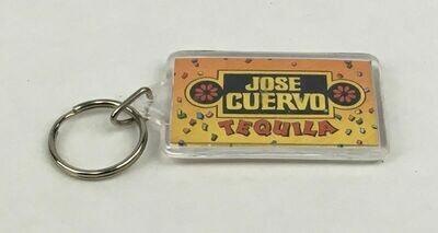 Jose Cuervo Tequila Plastic Key Ring