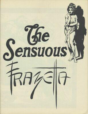 """Rare """"The Sensuous Frazetta"""" Art Portfolio Softcover (c1965-1970)"""