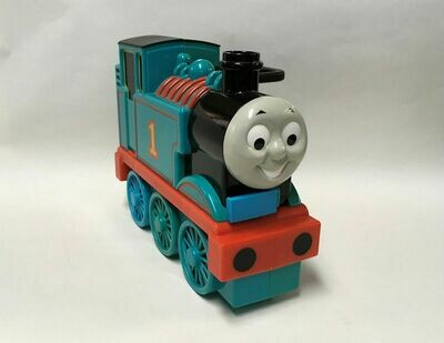 Thomas The Train Tank Engine Take Along Carrying Case and 11 ETRL Die-cast Cars