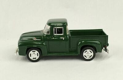 1956 FORD F100 Die Cast Pickup - Dark Green 1:24 Scale SUNNYSIDE SS 7601 Toy
