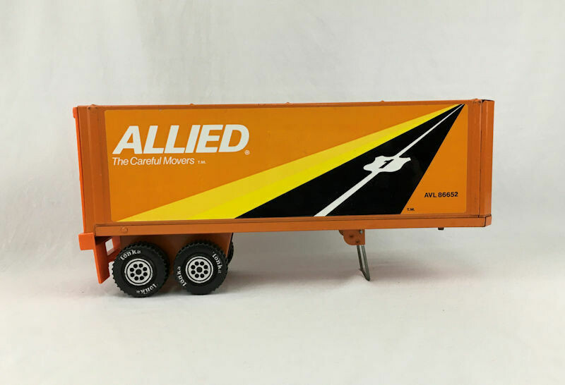 Tonka Allied Trailer Only 1976 Pressed Steel and Plastic AVL86652
