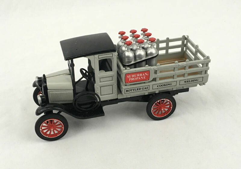 1923 Chevy 1 Ton Truck w Propane Bottles The National Motor Museum Mint Die Cast - #SS-C5120B.