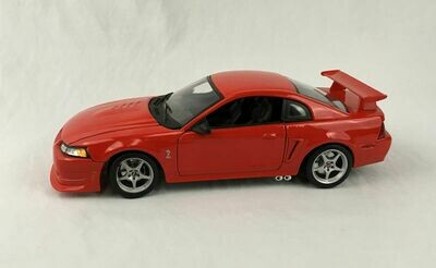 Maisto 2000 Ford Mustang SVT Cobra R Red Special Edition