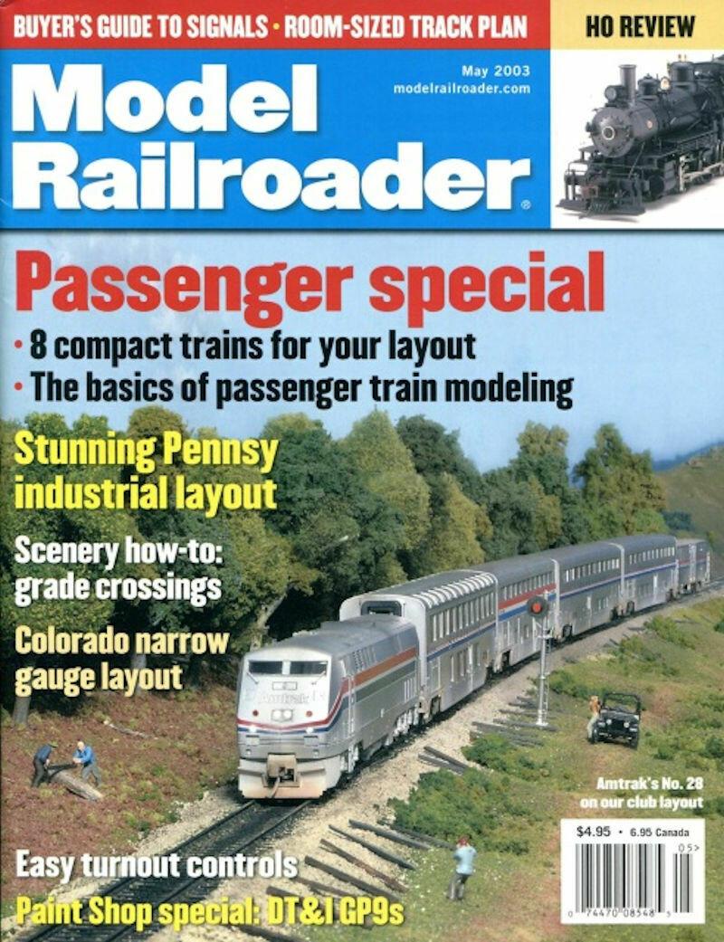 Model Railroader Magazine May 2003