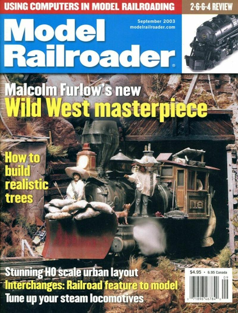 Model Railroader Magazine September 2003