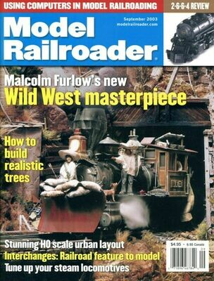 Model Railroader Magazine September 2003