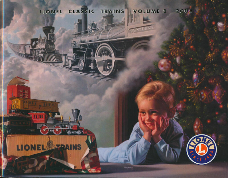 Lionel Classic Trains Volume 2002 Catalog
