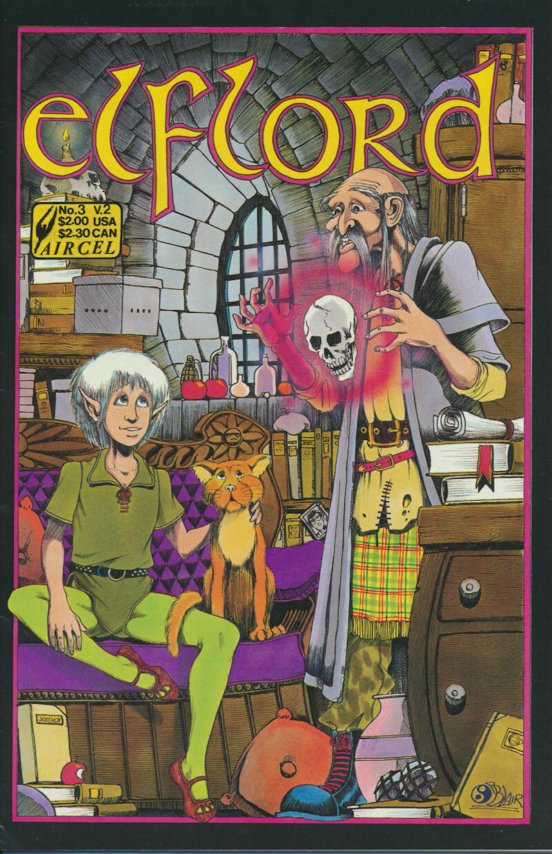 Elflord (1986 2nd Series) #3 Aircel