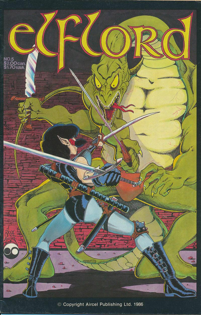 Elflord (1986 2nd Series) #5 Aircel