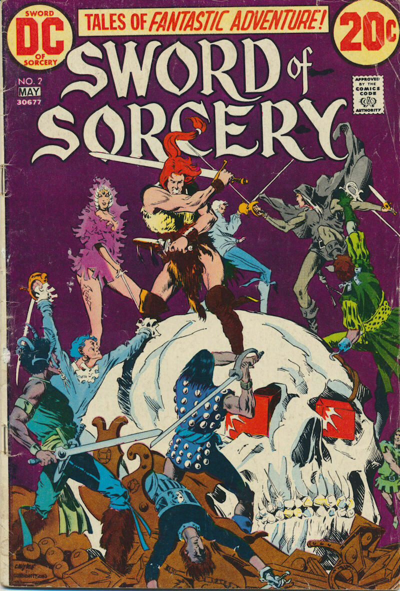 Sword of Sorcery (1973) Issue #2 DC