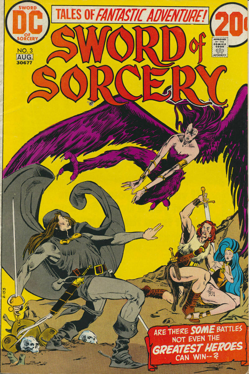 Sword of Sorcery (1973) Issue #3 DC