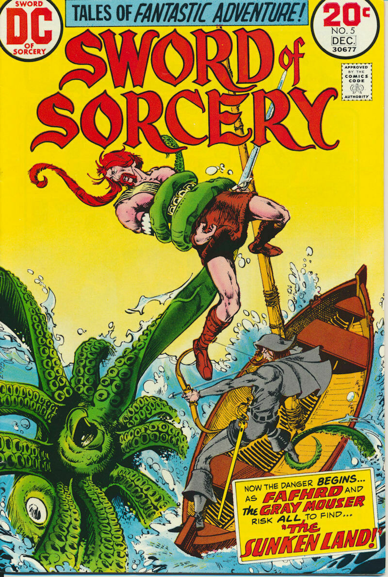 Sword of Sorcery (1973) Issue #5 DC