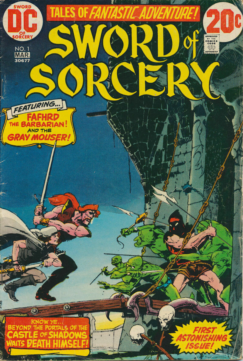 Sword of Sorcery (1973) Issue #1 DC