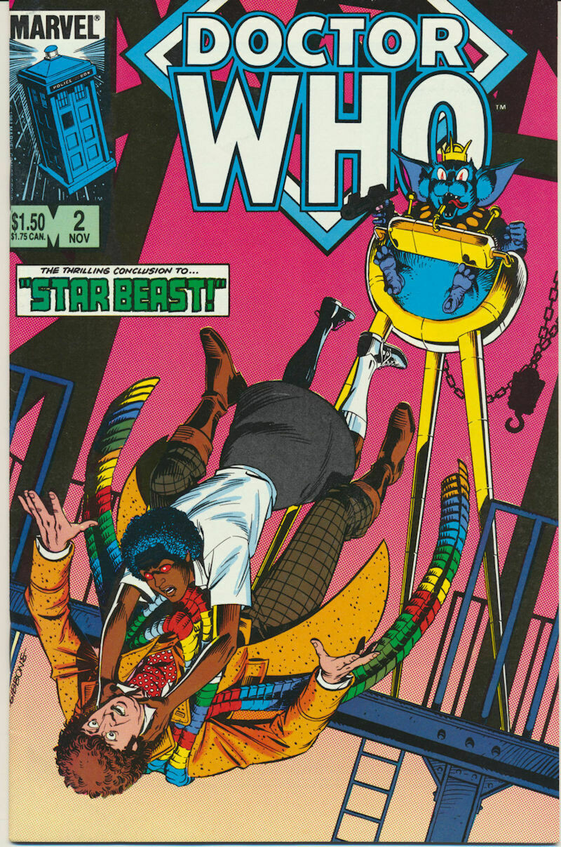 Doctor Who # 2 - MARVEL Comics – 1984
