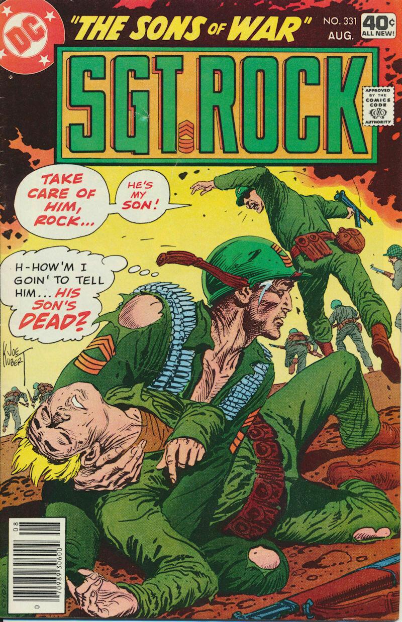 Sgt. Rock No. 331 1979 DC