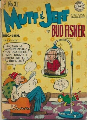 Mutt and Jeff # 31, Dec-Jan 1947-48 Golden Age DC