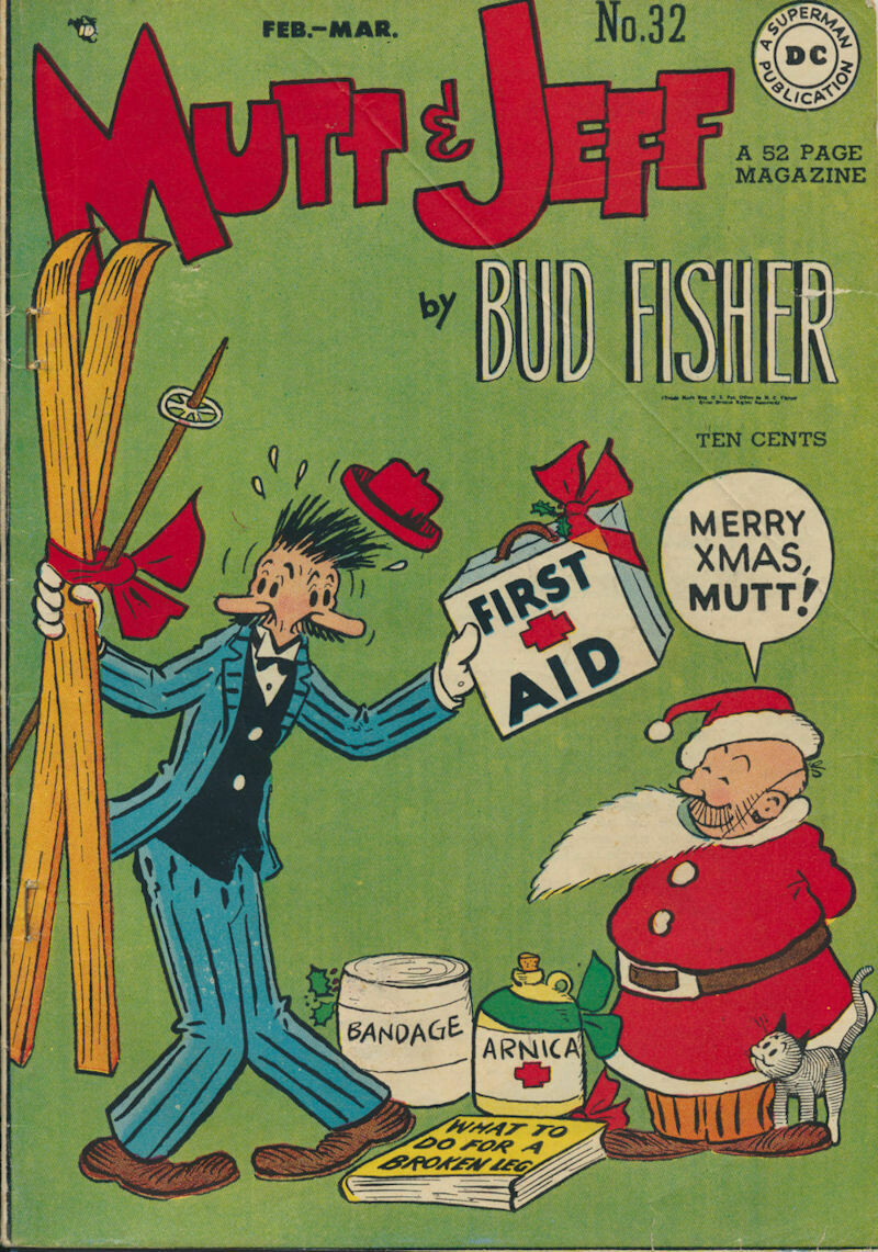Mutt and Jeff No. 32, Feb-Mar 1948 Golden Age DC
