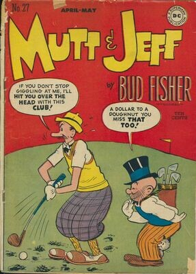 Mutt and Jeff # 27, April-May 1947 Golden Age DC
