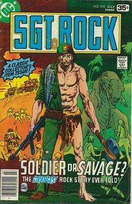 Sgt. Rock No. 318 1979 DC