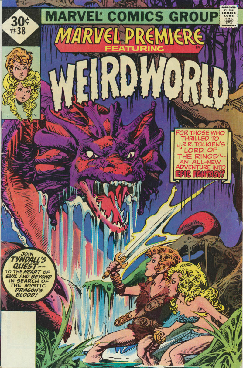 Marvel Premiere Weird World No.38, 1ST Print 1977