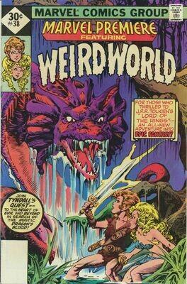 Marvel Premiere Weird World No.38, 1ST Print 1977