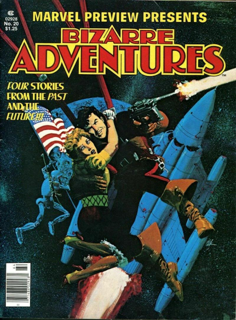 Marvel Preview Bizarre Adventures Vol. 1 No. 20