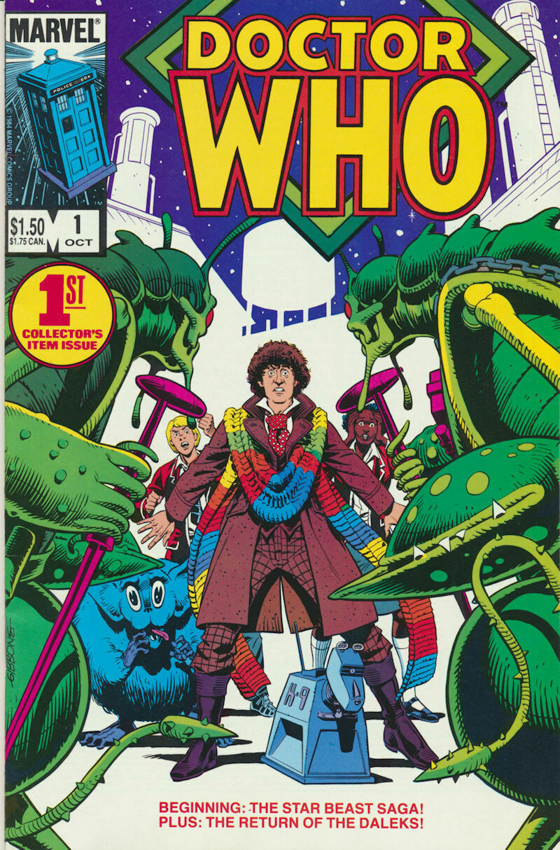 Doctor Who # 1 1st Collectors Issue! MARVEL Comics – 1984