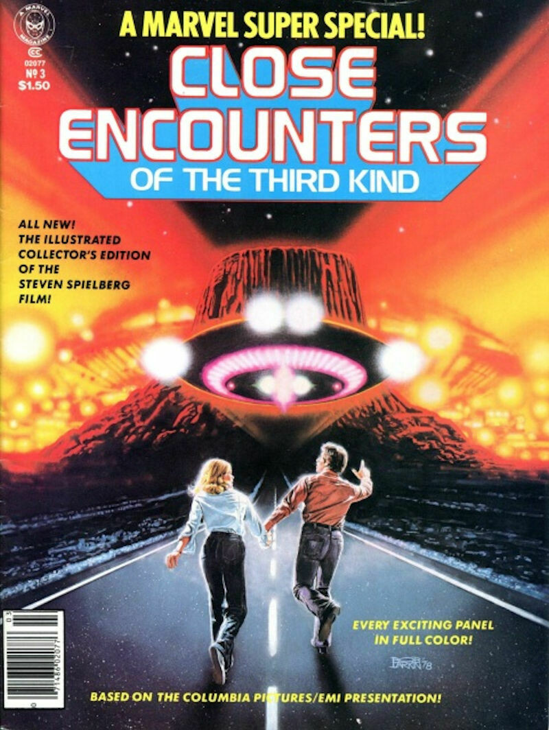Marvel Super Special Close Encounters of The Third Kind - Vol. 1 No. 3