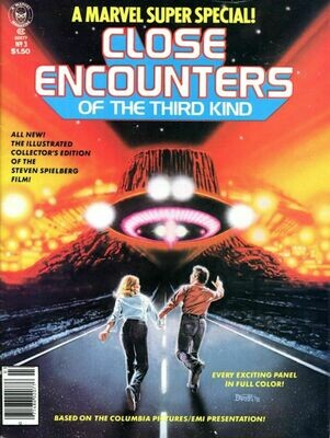 Marvel Super Special Close Encounters of The Third Kind - Vol. 1 No. 3