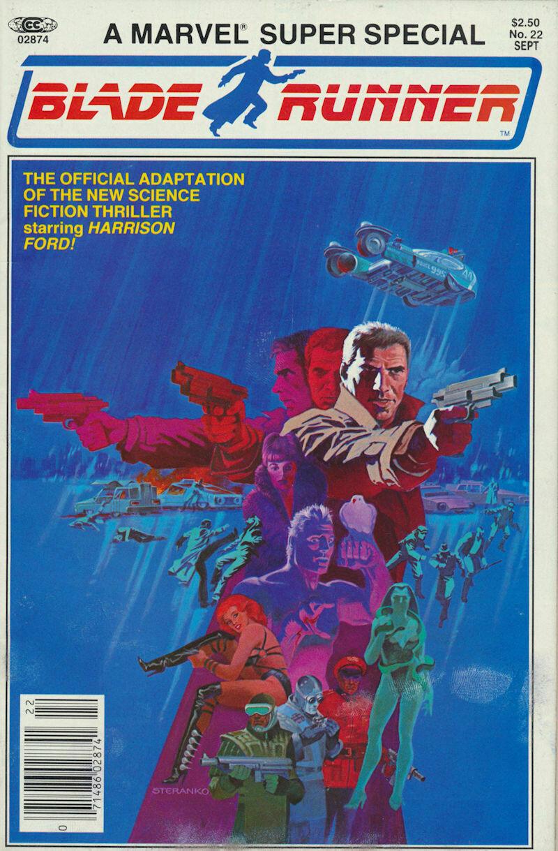 """Marvel Super Special #22 """"Blade Runner"""" Movie Adaptation 1982"""