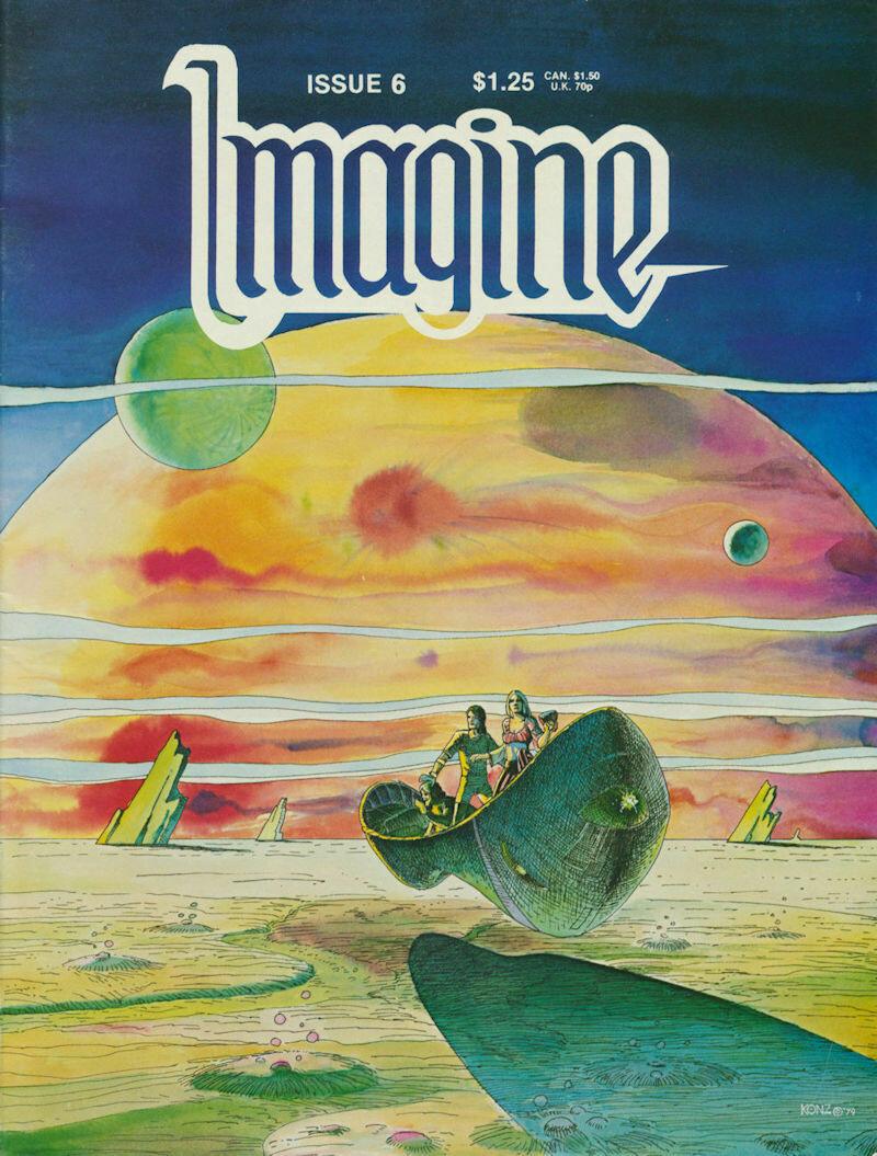 Imagine Comic Books issue # 6 1979