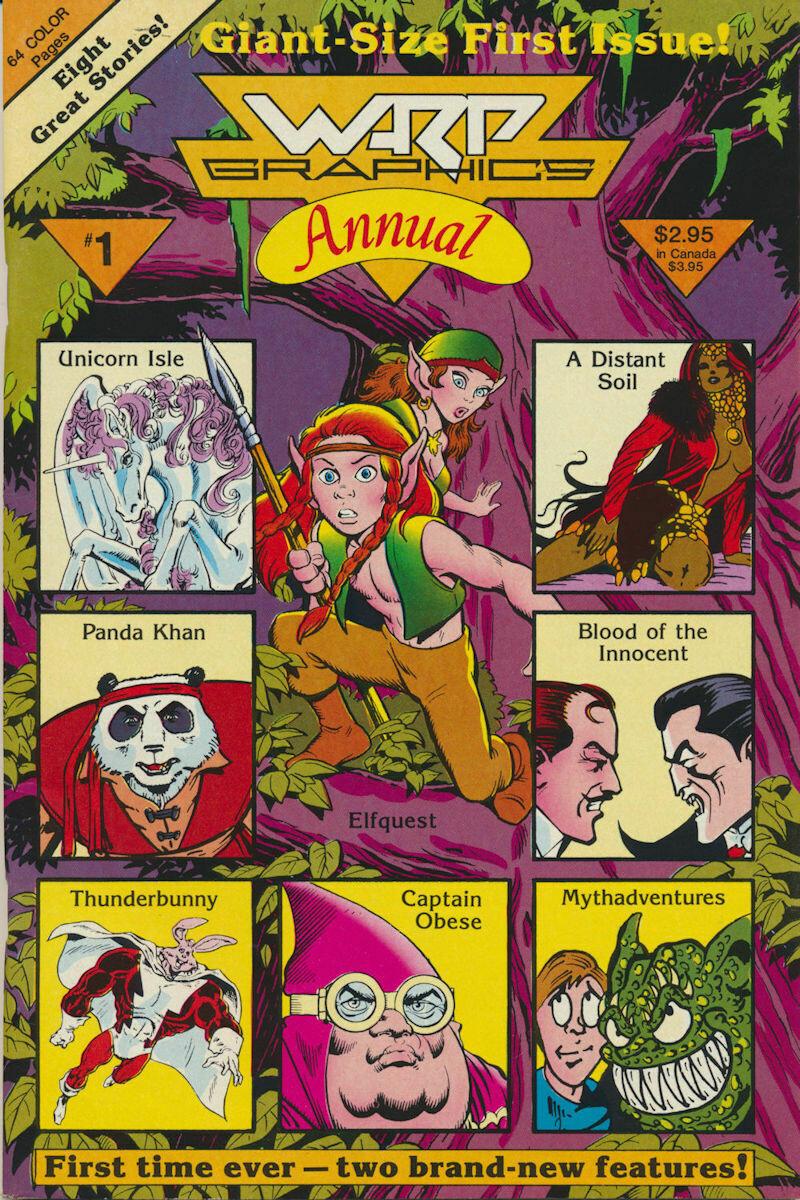 Warp Graphics Annual #1 1986 Wendy Pini Artist