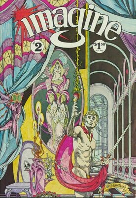 Imagine Comic Books issue # 2 1978