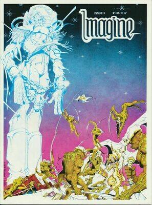 Imagine Comic Books issue # 5 1979