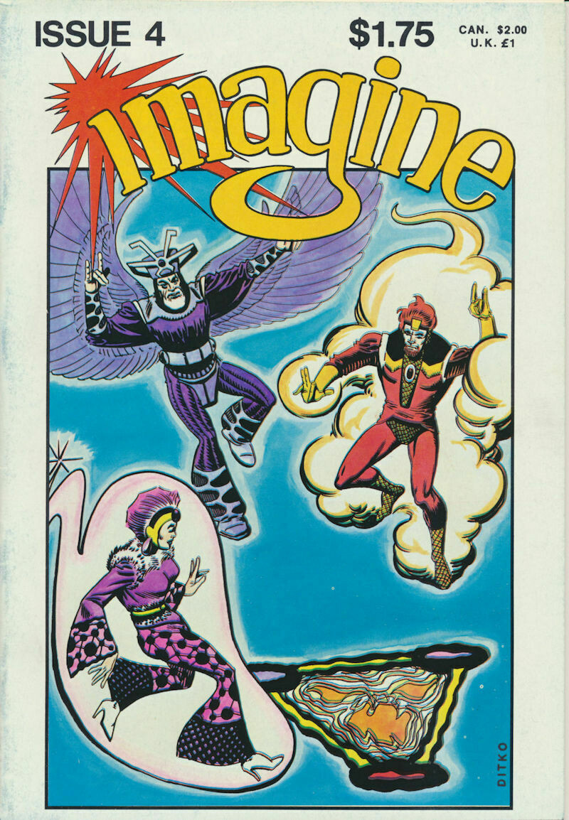 Imagine Comic Books issue # 4 1978