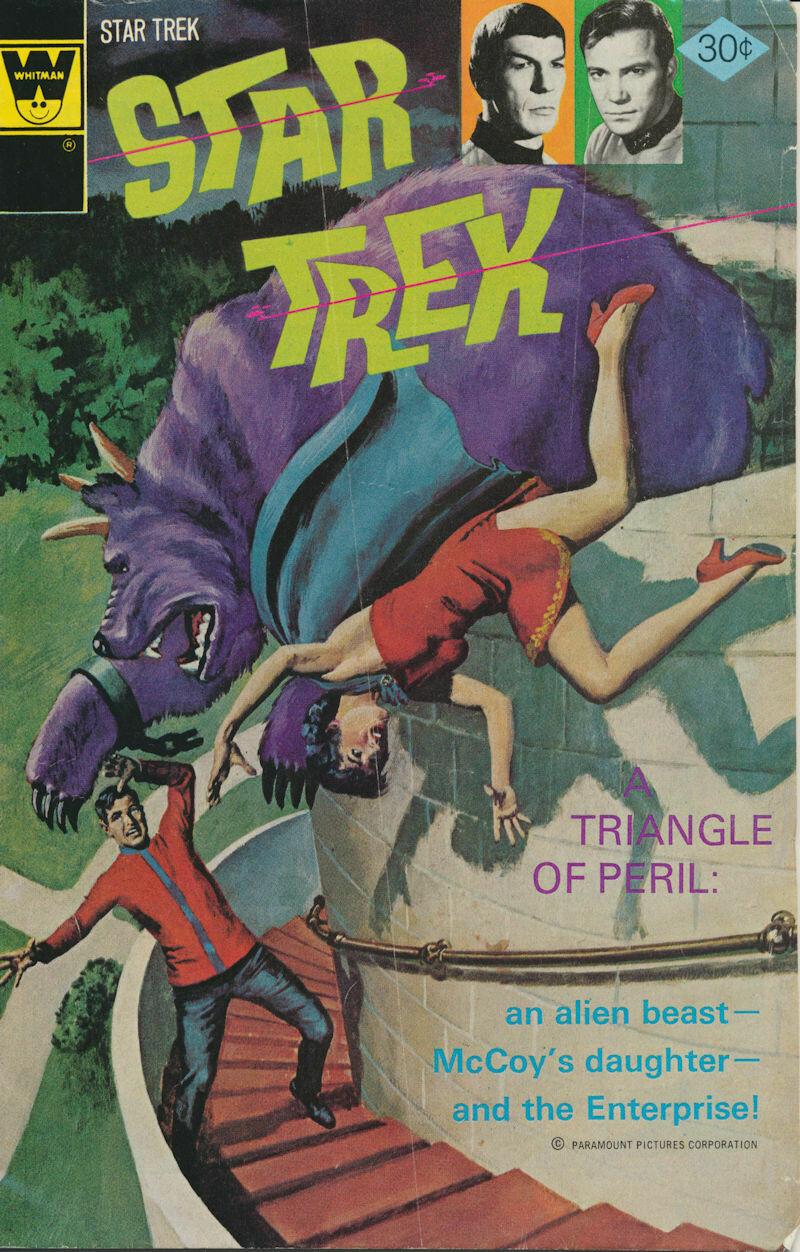 Star Trek - Whitman no. 40 Sept 1976 - Alden McWilliams art – FAIR Condition
