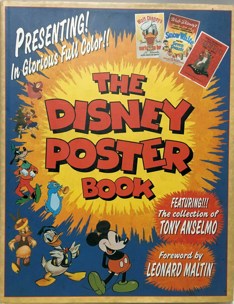 The Disney Poster Book 2002 HC/DJ VG