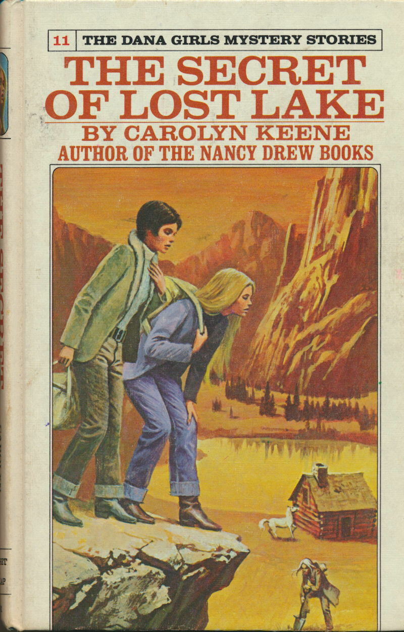 The Secret Of Lost Lake #11 By Carolyn Keene 1974 Dana Girls Mystery Book