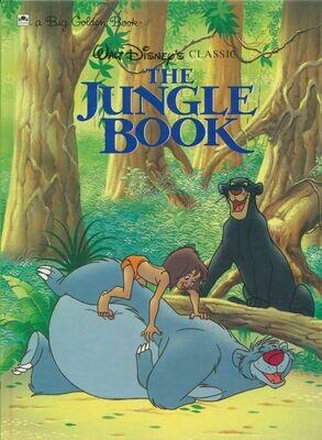 Walt Disney's The Jungle Book A Big Golden Book HC 1990