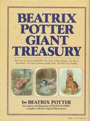 Beatrix Potter Giant Treasury by Beatrix Potter Hard Cover 1st 1984