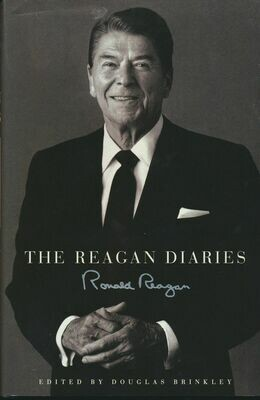 The Reagan Diaries Edited by Douglas Brinkley Hardcover w DJ 2007 1st Edition