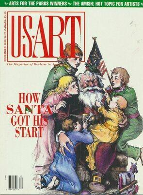 U.S. Art Magazine - December 1990
