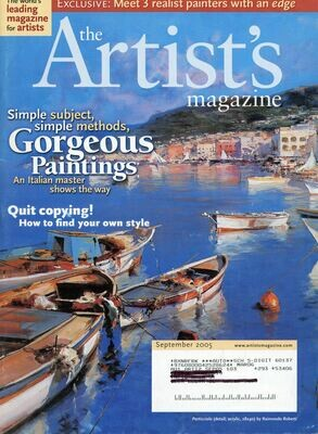 The Artist's Magazine September 2005