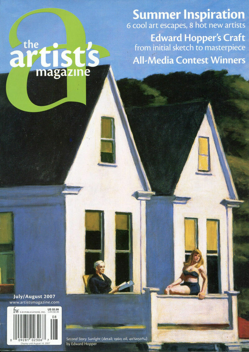 The Artist Magazine July/August 2007