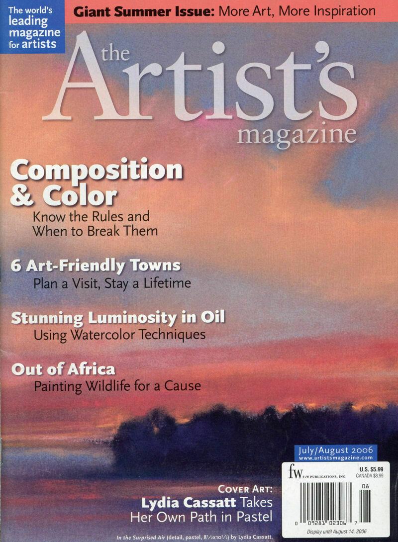 The Artist's Magazine July-Aug 2006