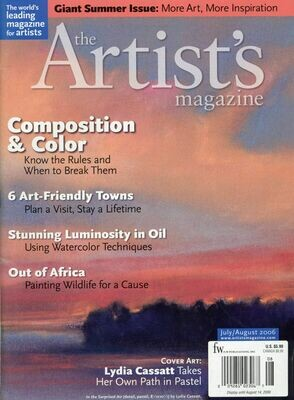 The Artist's Magazine July-Aug 2006
